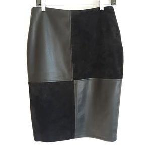 Ivanka Trump Pleather Skirt, size 6